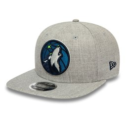 Gorra snapback Minnesota Timberwolves Heather 9FIFTY, gris