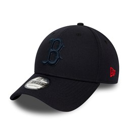 Boston Red Sox Navy Tone 9FORTY Snapback Cap