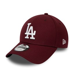 Los Angeles Dodgers Maroon and White 9FORTY Snapback Cap