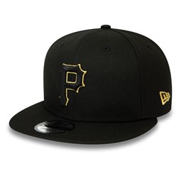 Pittsburgh Pirates Black and Gold 9FIFTY Snapback Cap