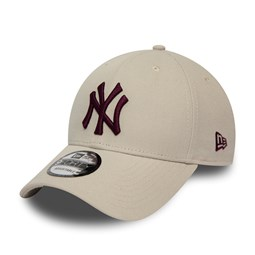New York Yankees Cream 9FORTY Snapback Cap