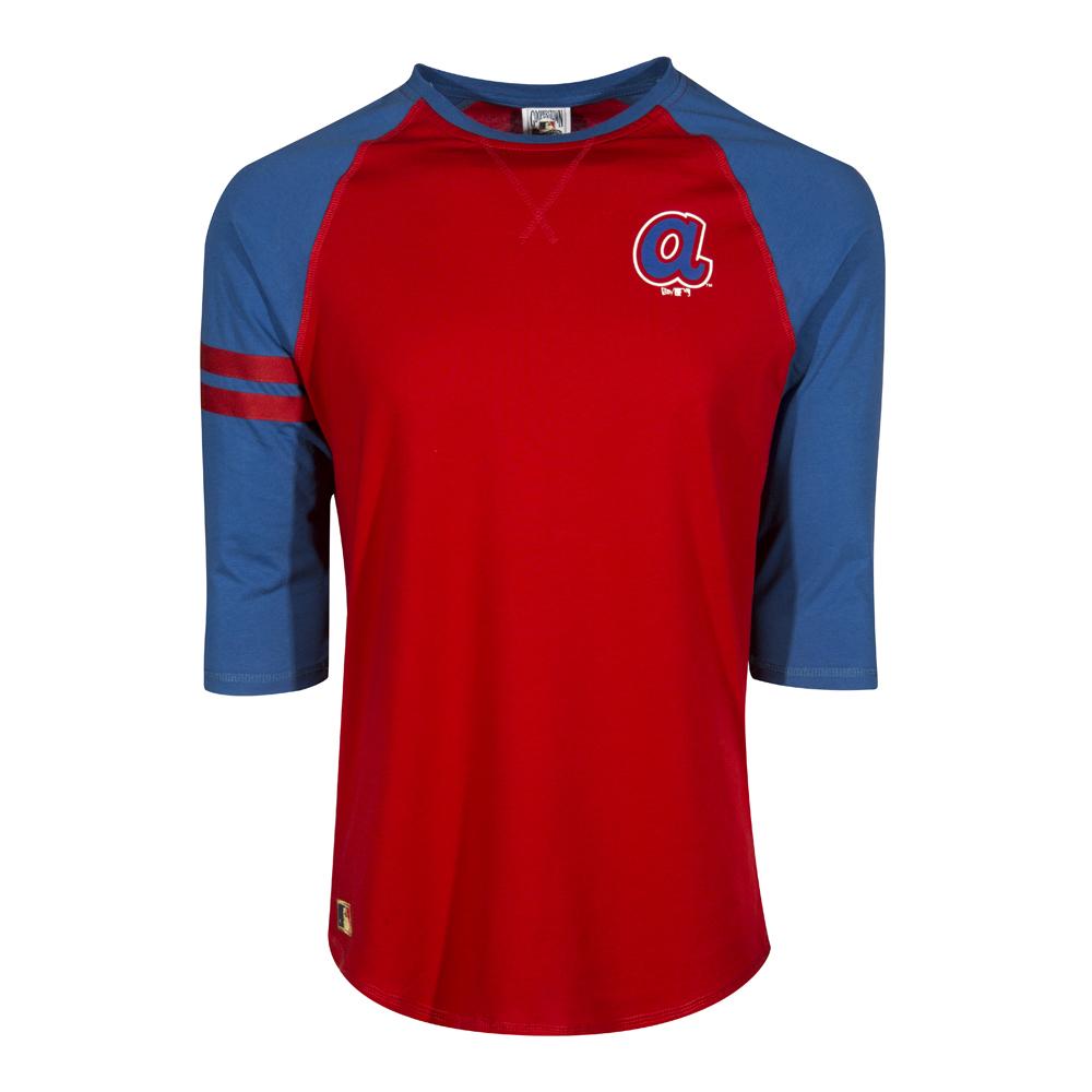 Camiseta Atlanta Braves Cotton Raglan