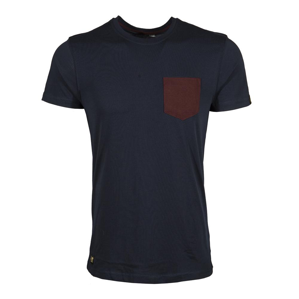Camiseta con bolsillo New Era Crafted