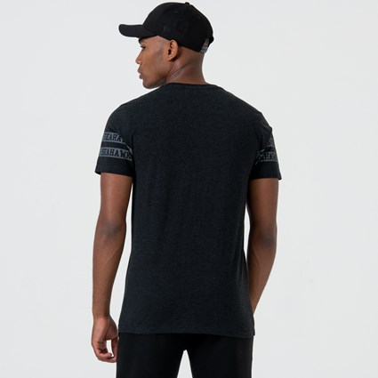 Seattle Seahawks Logo Black Tee