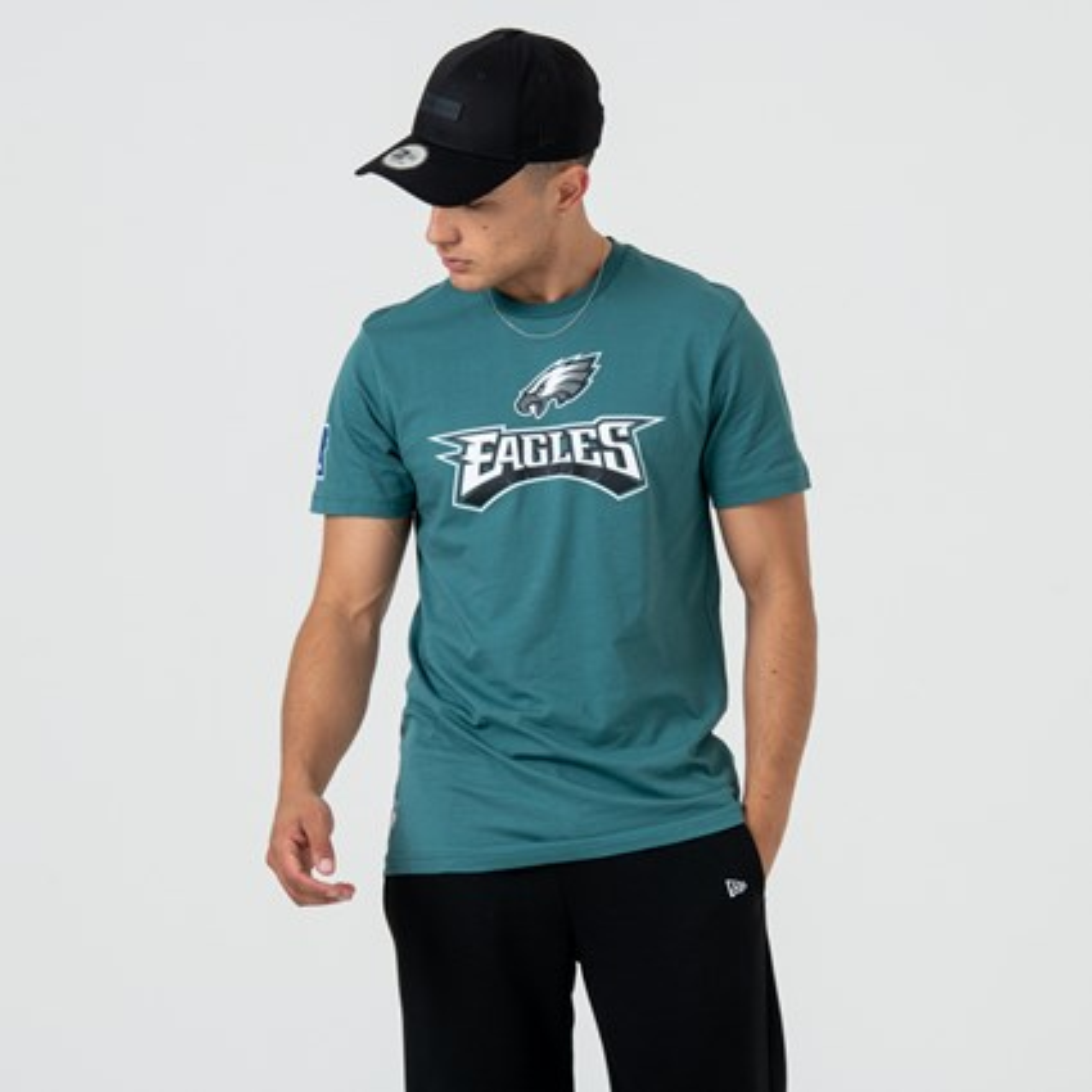 b7d7e29c Philadelphia Eagles Logo Green Tee | New Era
