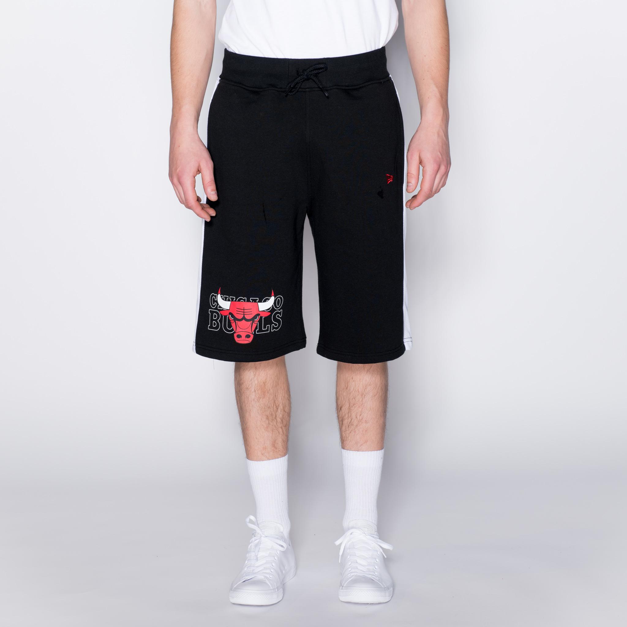 Chicago Bulls – Shorts mit Logo – Schwarz