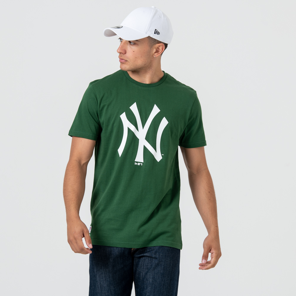 T-shirt New York Yankees vert à logo