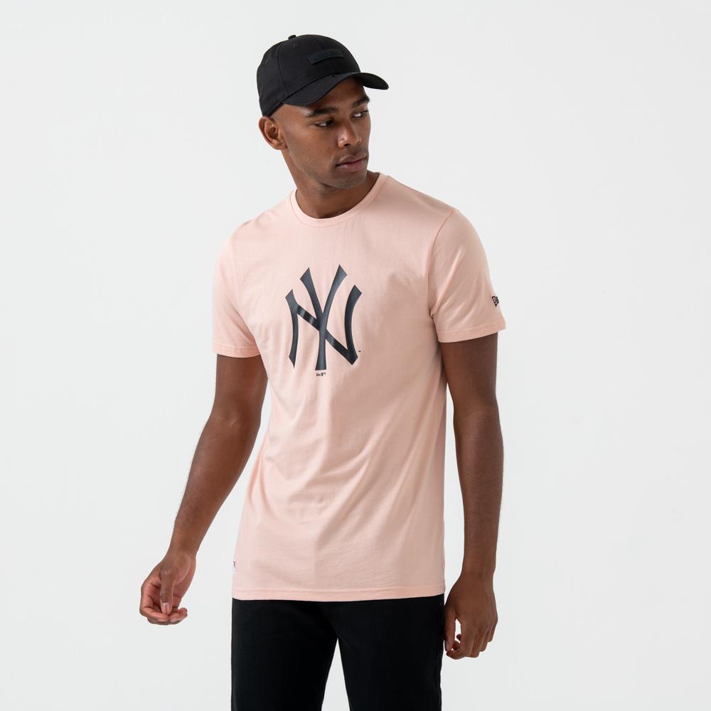 T-shirt New York Yankees rose à logo