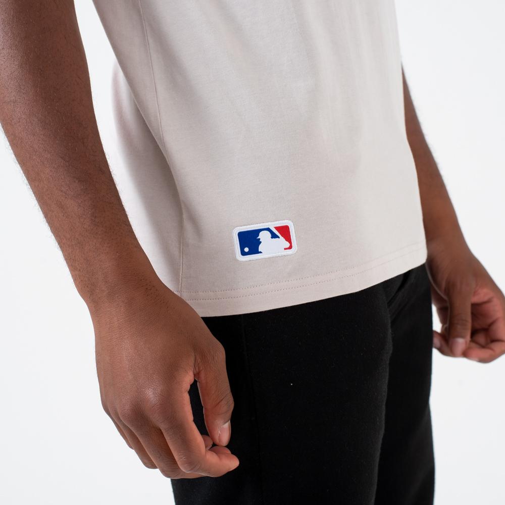 T-shirt Los Angeles Dodgers grège à logo