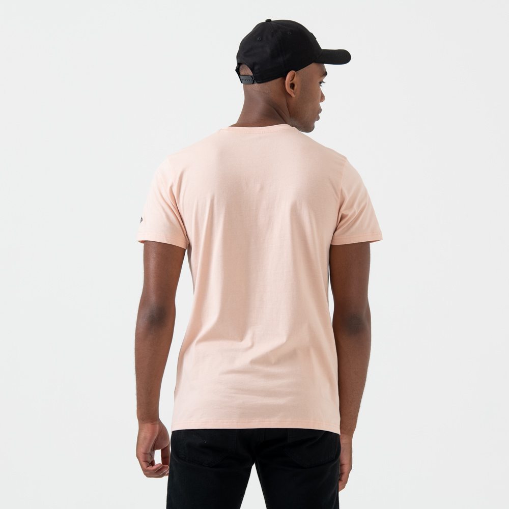 T-shirt Los Angeles Dodgers Logo Pink