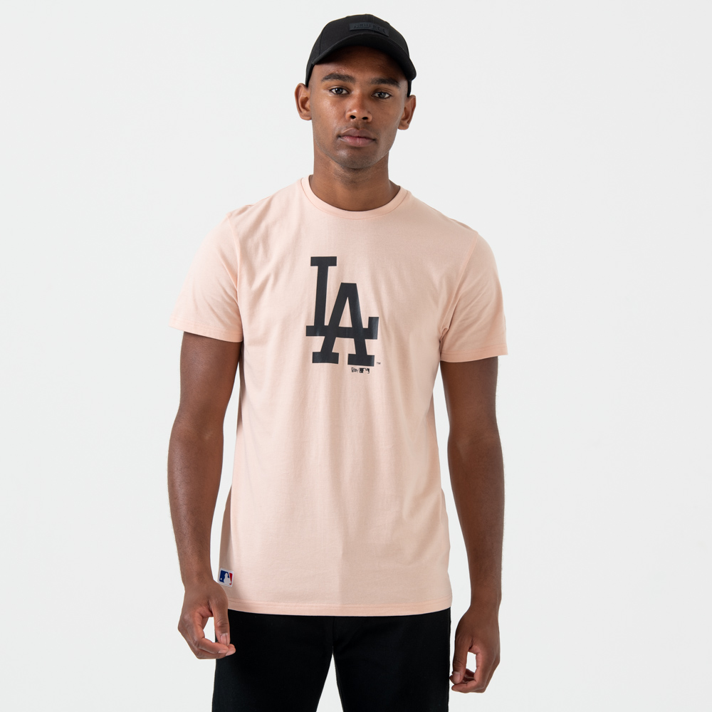 Los Angeles Dodgers Logo – T-Shirt – Pink