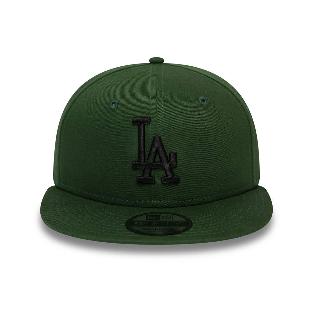 Los Angeles Dodgers Essential 9FIFTY verde con chiusura posteriore