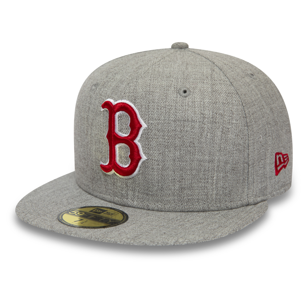 96417663 New. Boston Red Sox Essential Grey 59FIFTY SNAPBACK