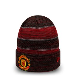 Manchester United Two Tone Engineered Cuff Knit