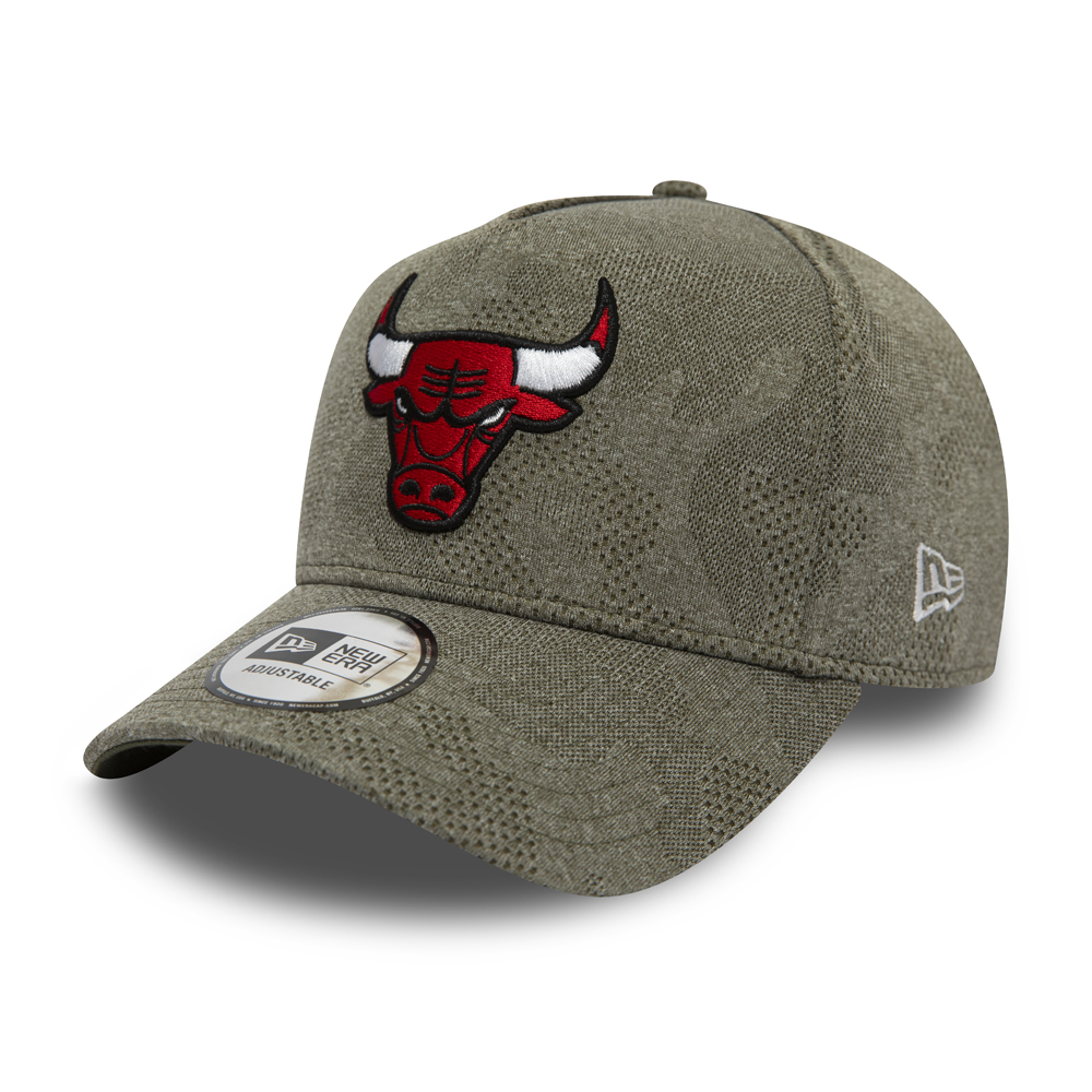 0519826dff9919 New. Chicago Bulls Engineered Plus Olive A Frame 9FORTY