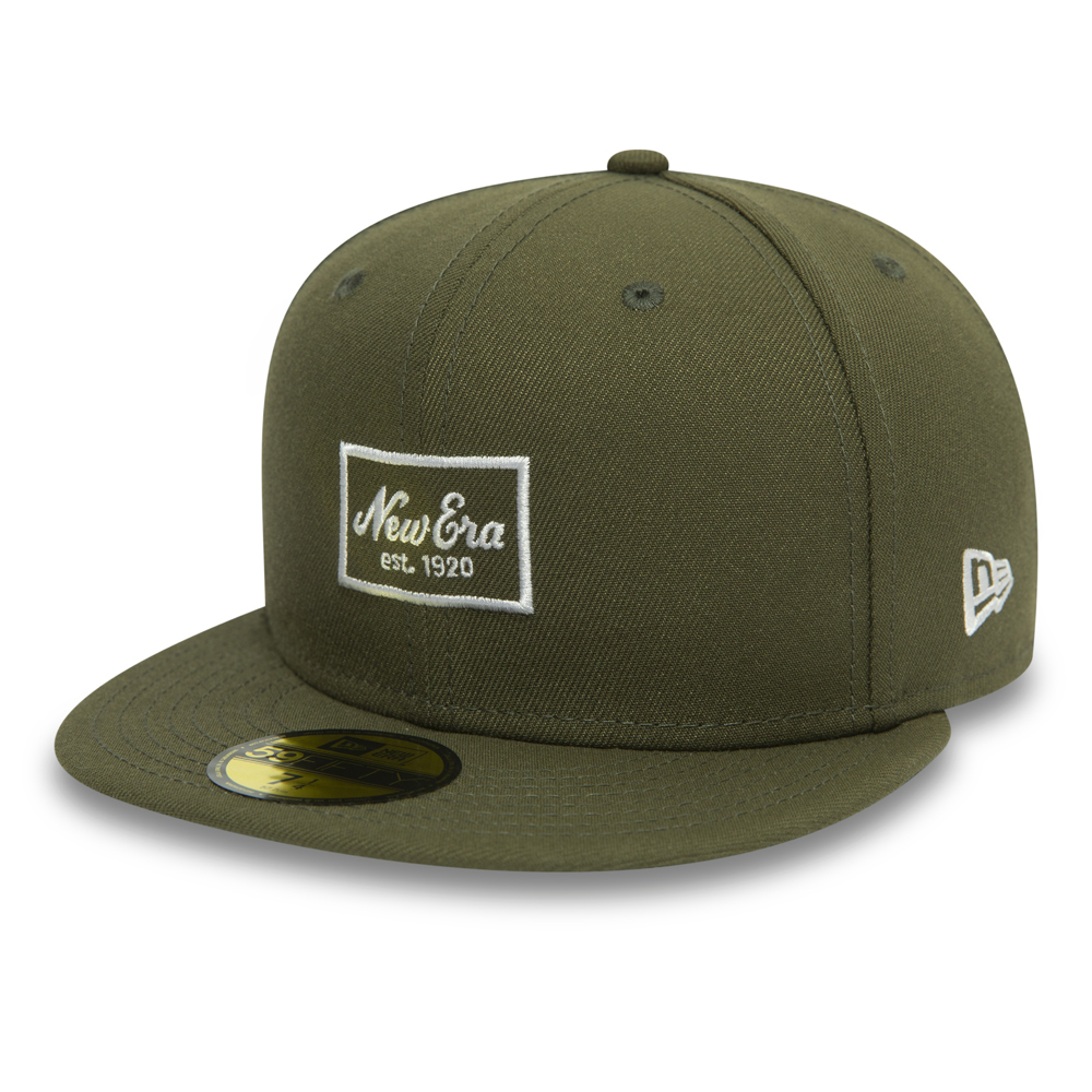 33854912 New Era Patch Olive 59FIFTY SNAPBACK
