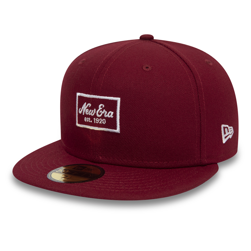 New Era Patch 59FIFTY SNAPBACK, rojo