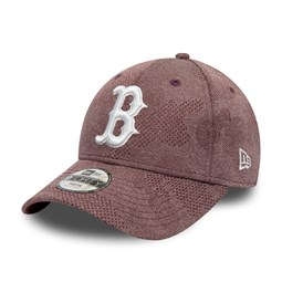 Casquette Boston Red Sox Engineered Plus 9FORTY enfant bordeaux