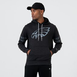Philadelphia Eagles Logo Black Pullover Hoodie