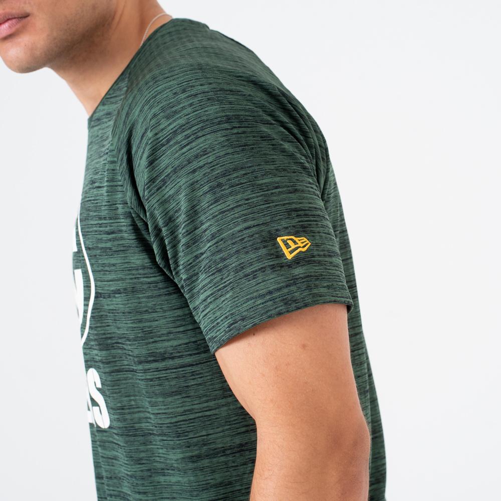 Green Bay Packers New Era Neon Logo T-Shirt