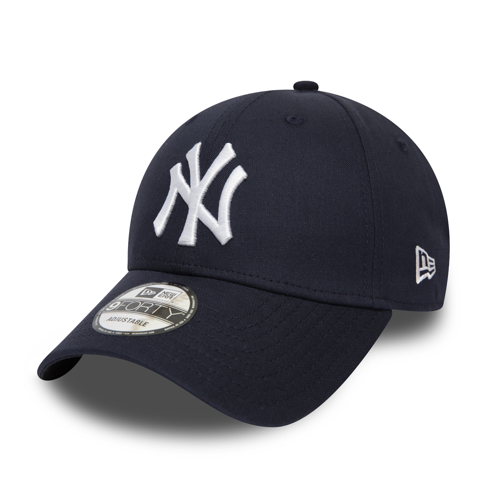 1ad9d1e24f690f New York Yankees Chambray Essential Black 9FORTY