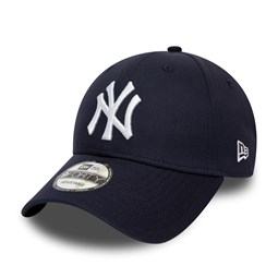 38c12c350b2127 New York Yankees Chambray Essential Black 9FORTY