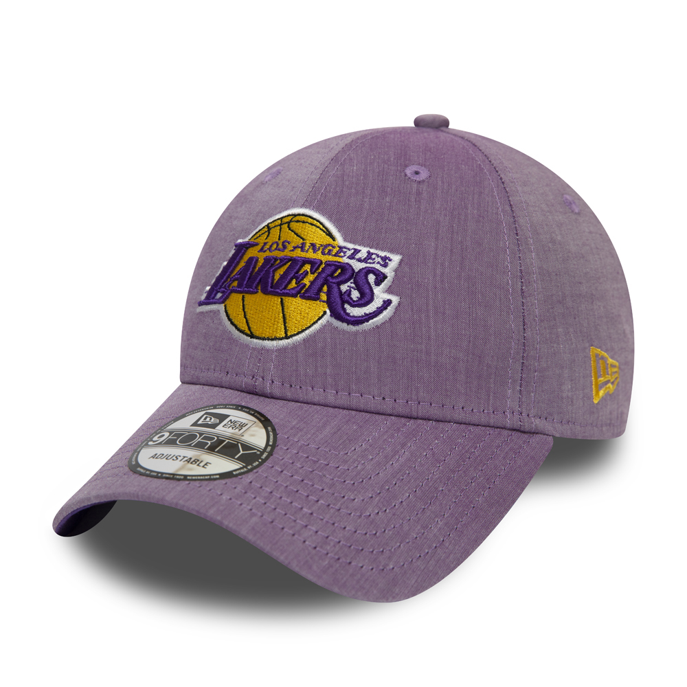 Los Angeles Lakers Chambray Essential 9FORTY violet