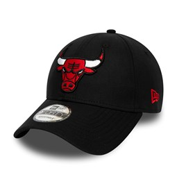 f59c2a7cd24319 New. Chicago Bulls Chambray Essential Black 9FORTY