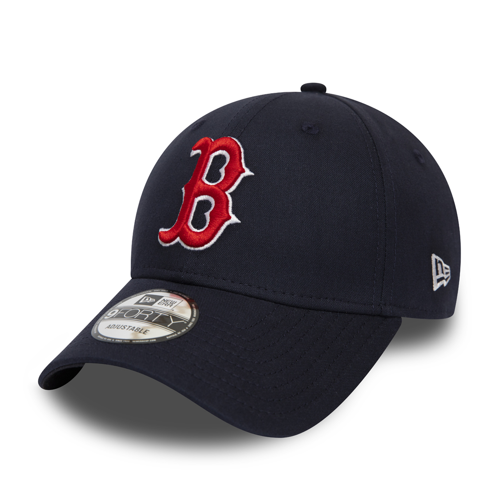 5b35235259a397 Boston Red Sox Chambray Essential Black 9FORTY