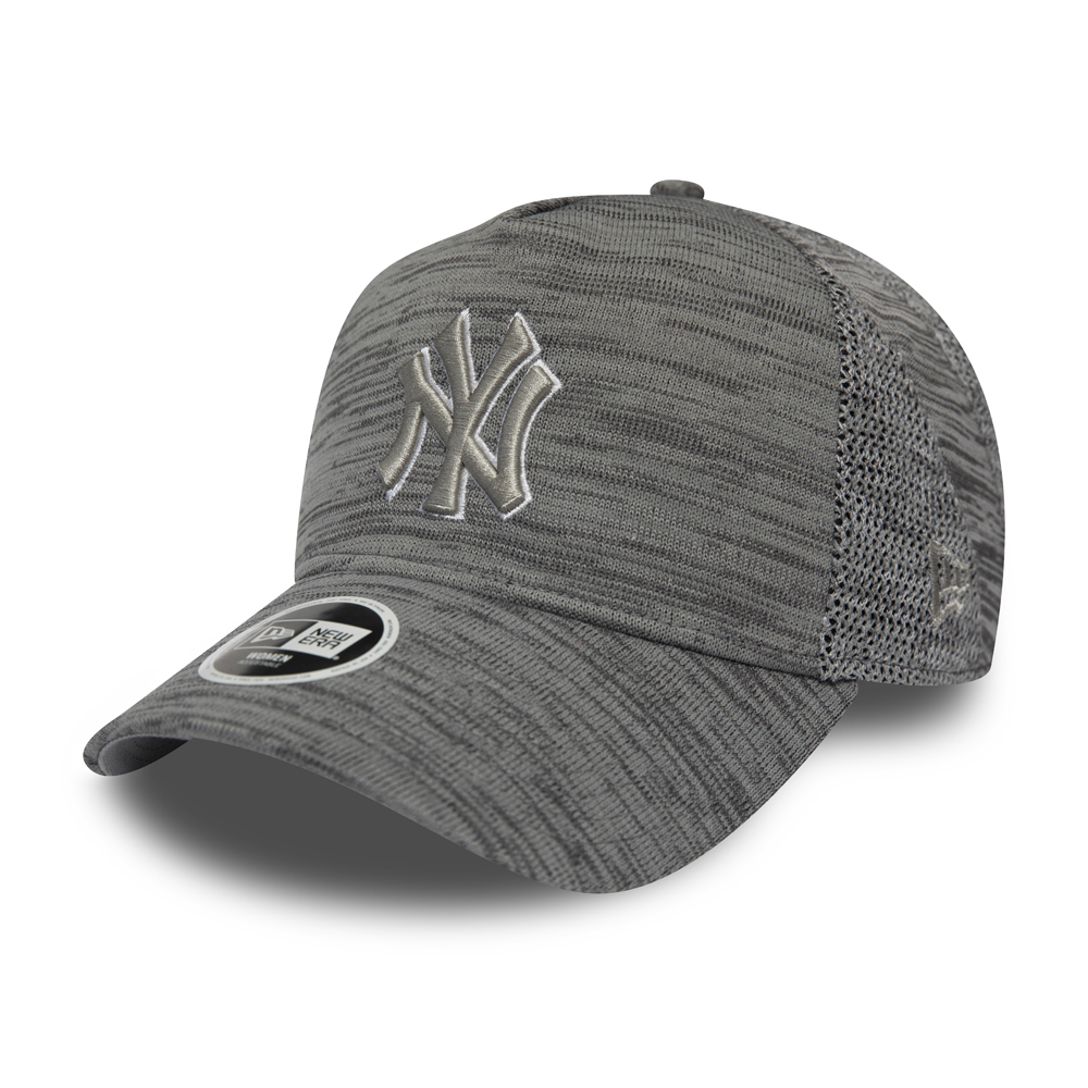 fa7f4d374b7994 New York Yankees Engineered Fit Womens Grey A Frame Trucker