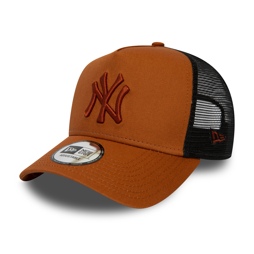 sports shoes 6628f 7addc New York Yankees Essential Rust A Frame Trucker