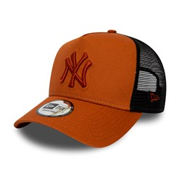 New York Yankees Essential Rust A Frame Trucker