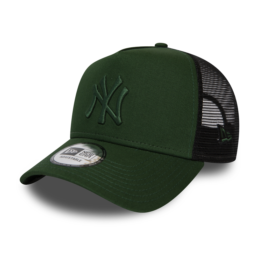New York Yankees Essential Green A Frame Trucker