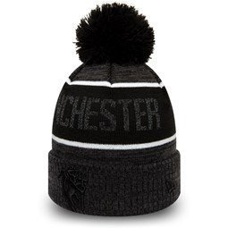 Manchester United Reflect Grey Bobble Cuff Knit