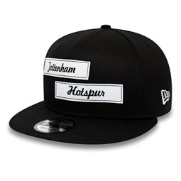 Tottenham Hotspur FC Dual Patch Black 9FIFTY SNAPBACK
