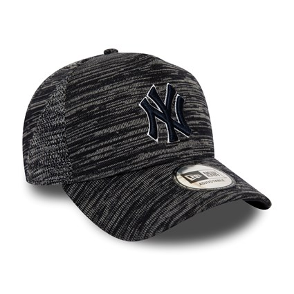 New York Yankees Engineered Fit Black Trucker