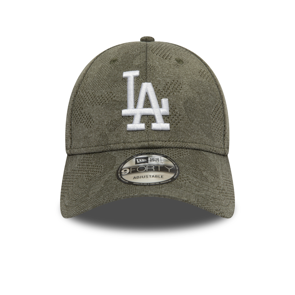 Los Angeles Dodgers Engineered Plus 9FORTY vert olive