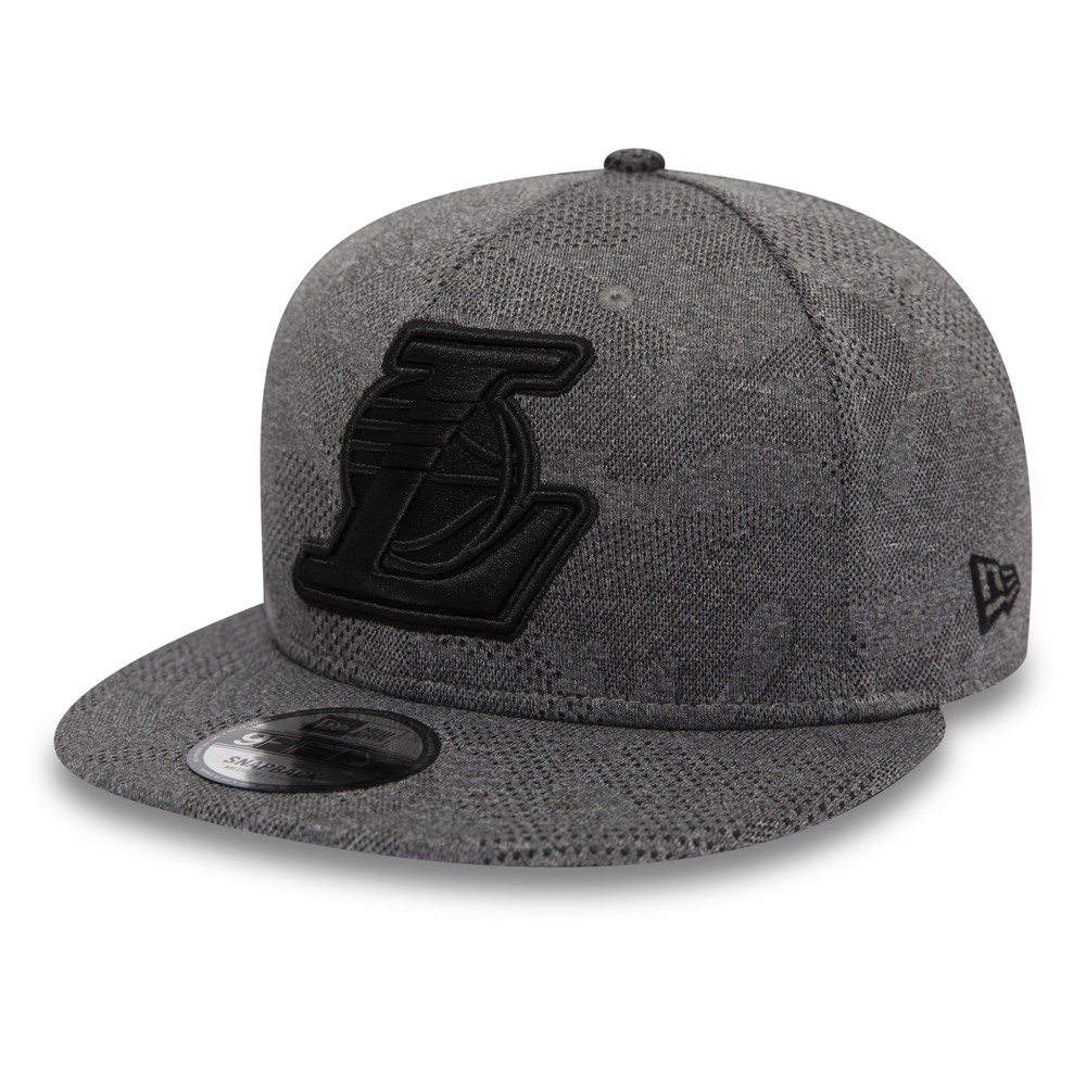 491808706e5f8b Los Angeles Lakers Engineered Plus Grey 9FIFTY SNAPBACK
