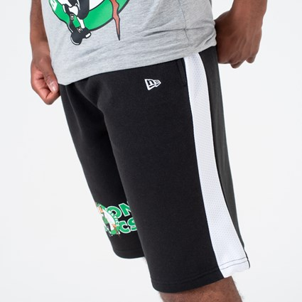 Boston Celtics Logo Black Shorts