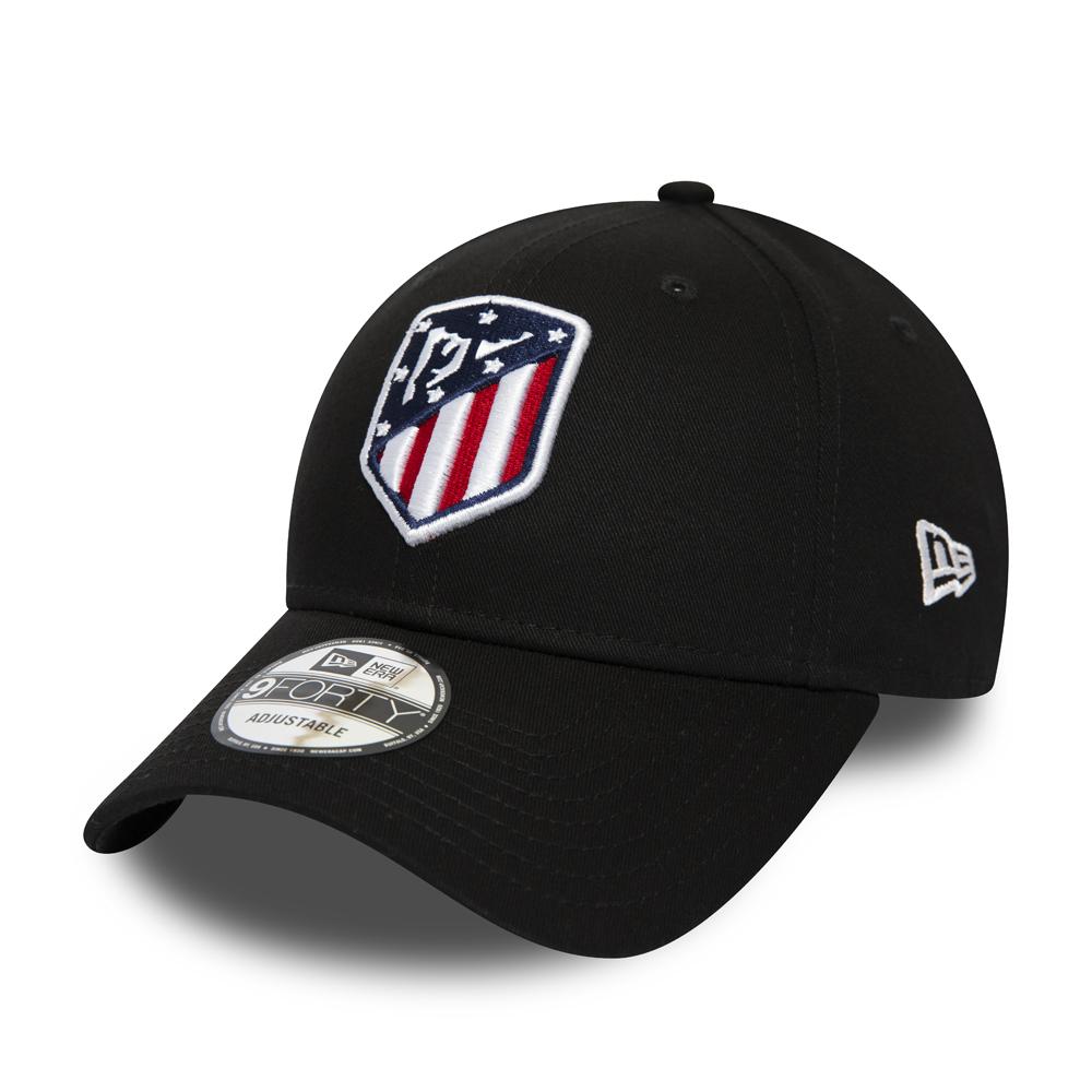 9FORTY – Atletico Madrid – Logo Essential – Schwarz