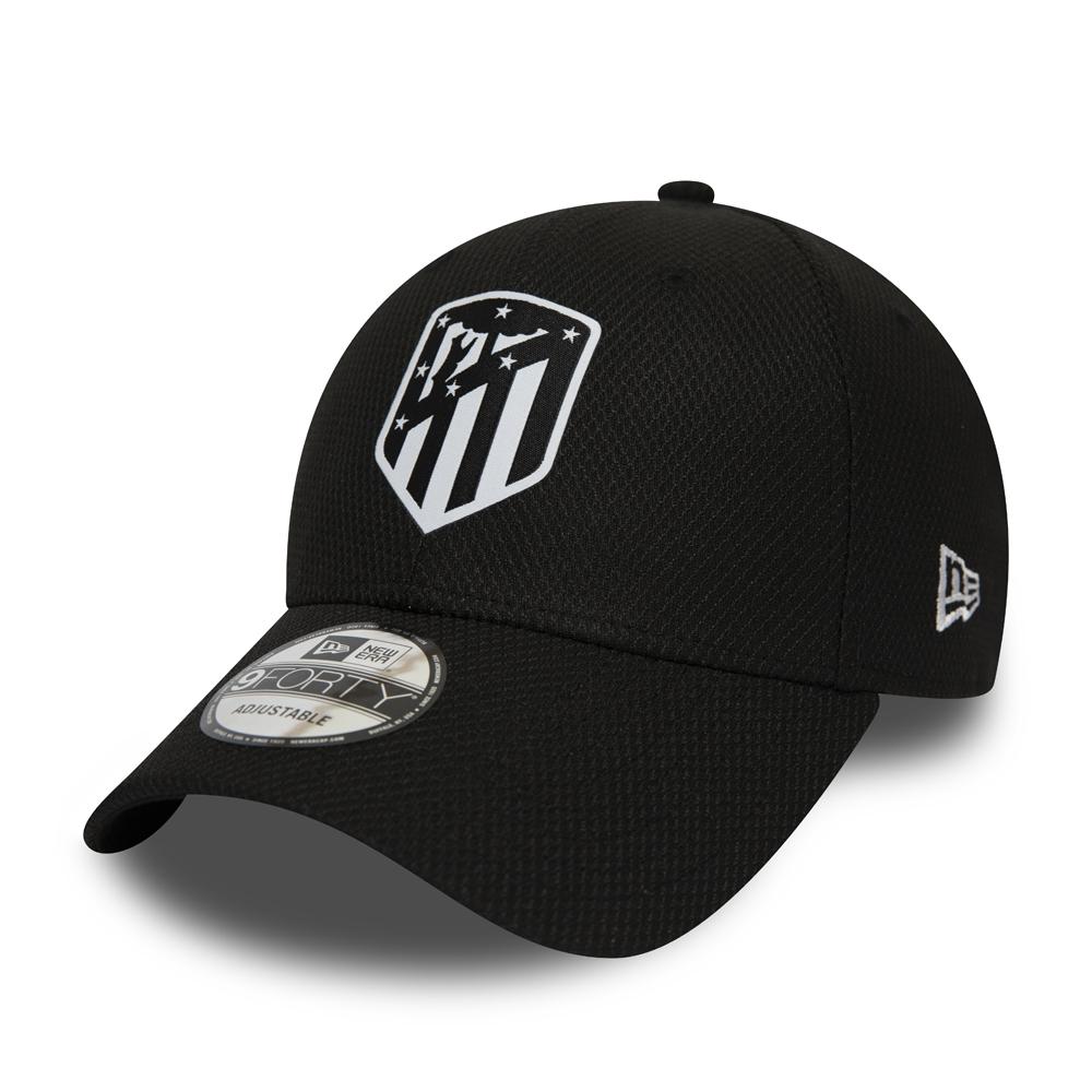 Atletico Madrid Logo Diamond Era Black 9FORTY