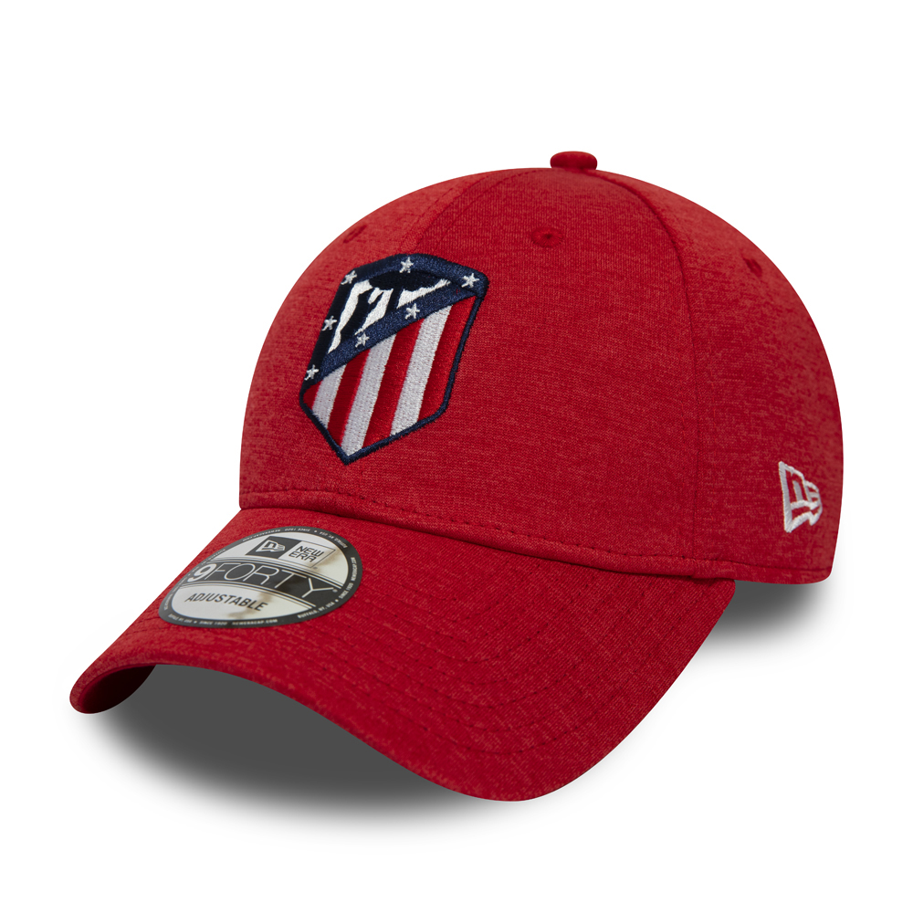 Atletico Madrid Shadowtech 9FORTY rouge avec logo