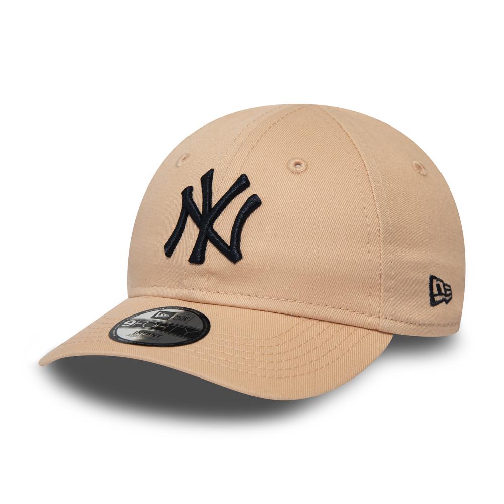 New York Yankees Essential 9FORTY niño, rosa
