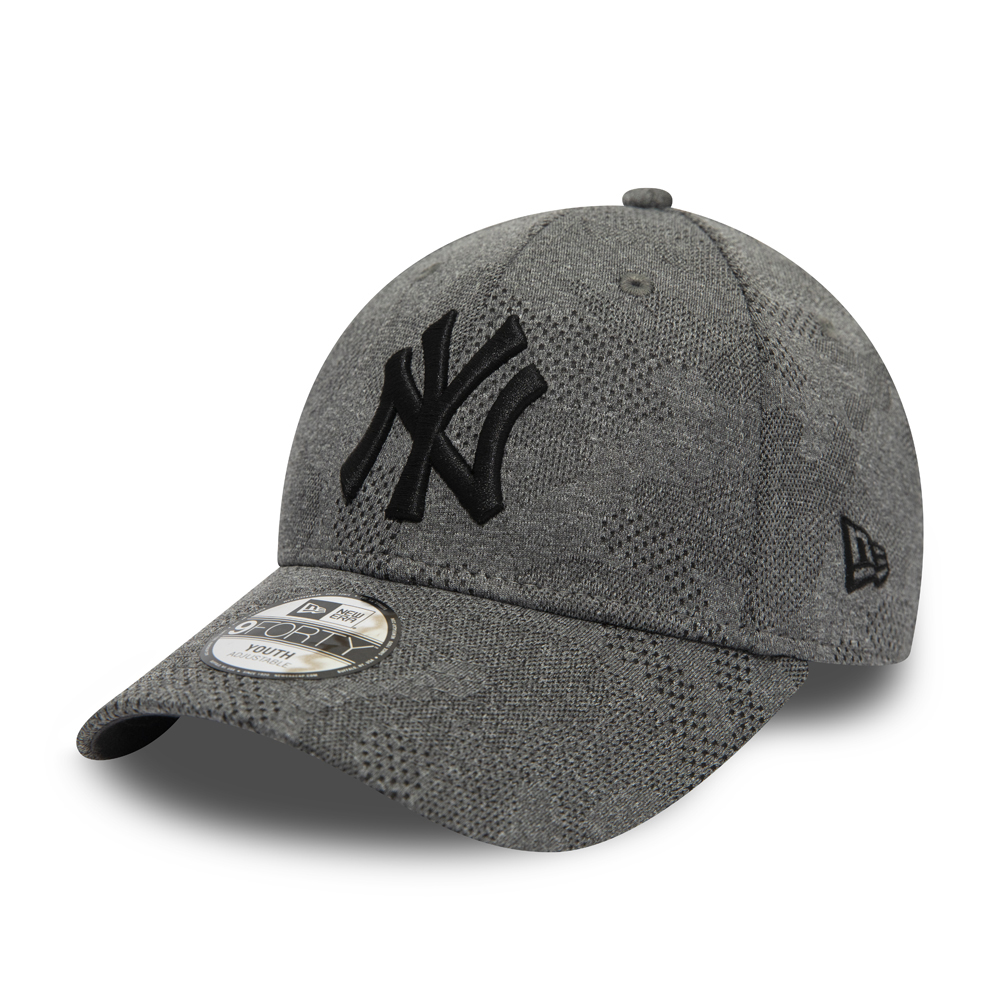 9FORTY Kappe – New York Yankees – Engineered Plus – Kinder – Grau