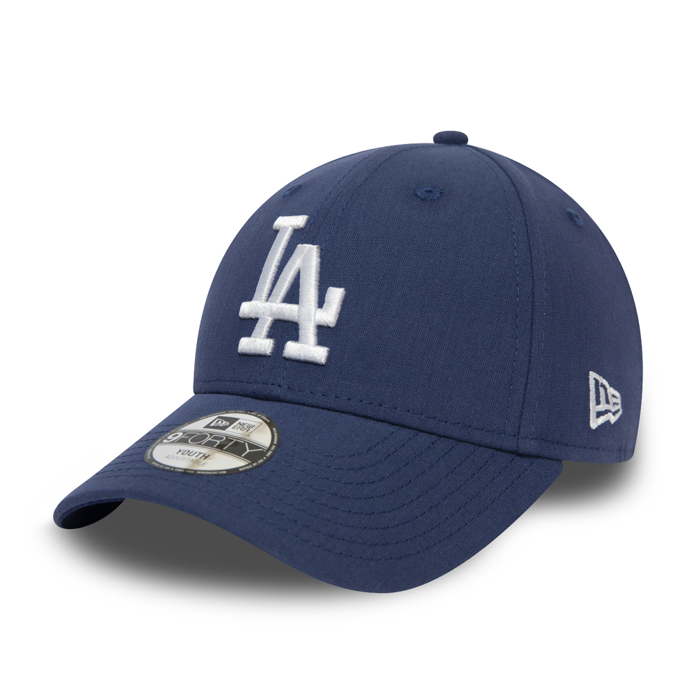 Los Angeles Dodgers 9FORTY bambino in tessuto chambray blu