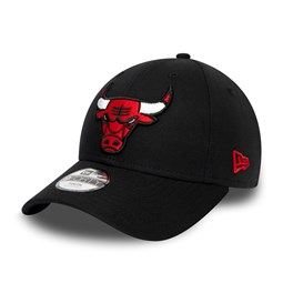 Chicago Bulls Chambray Essential 9FORTY niño, negro