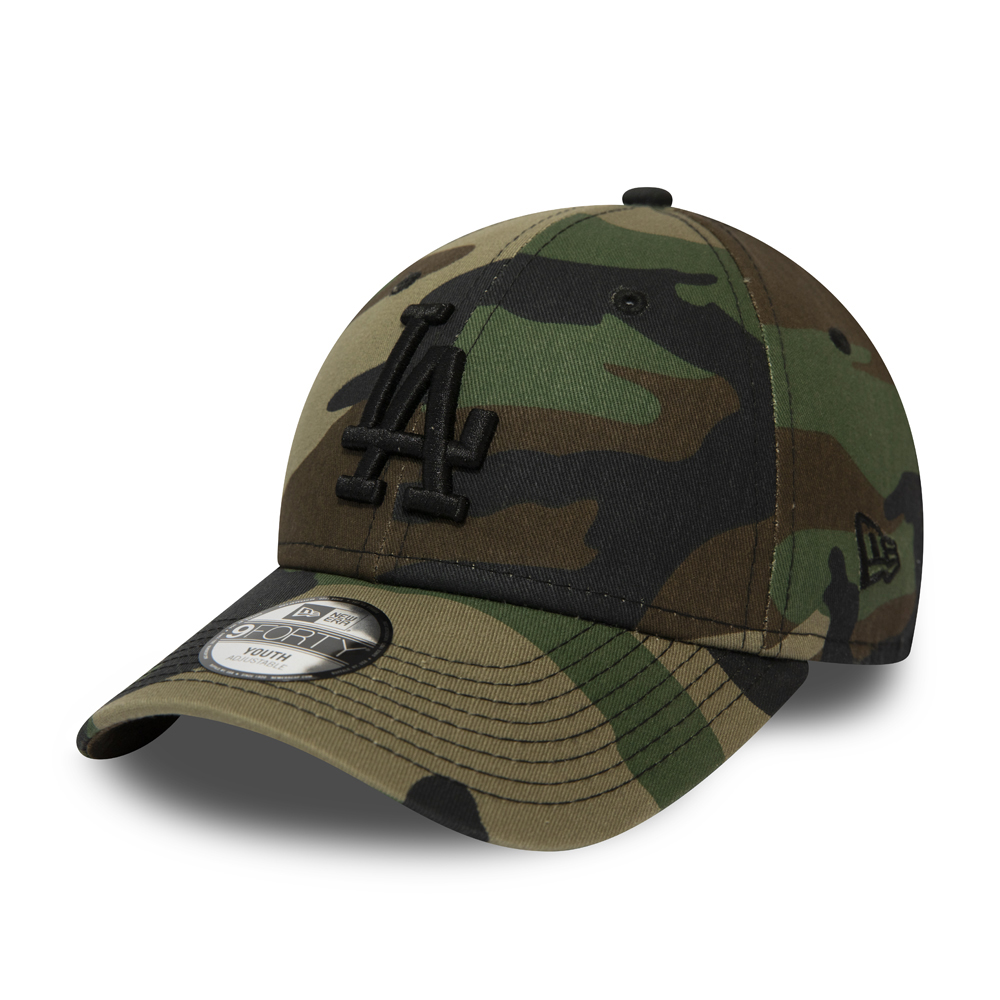 b6a383908bff61 Los Angeles Dodgers Essential Kids Camo 9FORTY