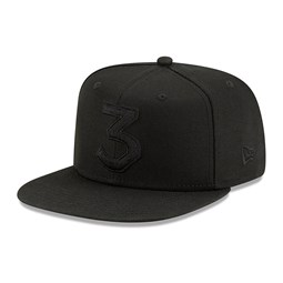 New Era x Chance the Rapper 9FIFTY Snapback tout noir