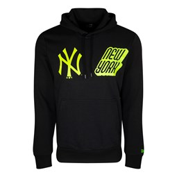 4d716262b3be7 New York Yankees Graphic Black Pullover Hoodie