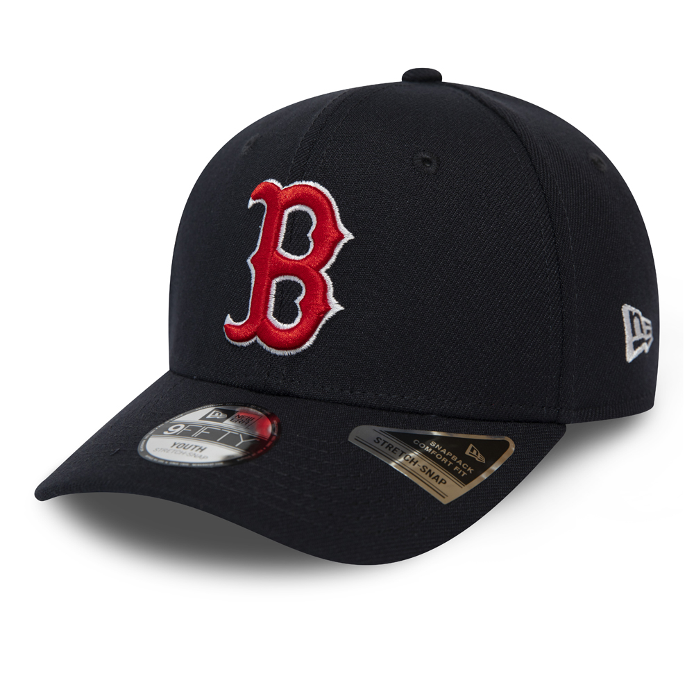 9FIFTY – Boston Red Sox – Stretch Snap – Kinder – Marineblau